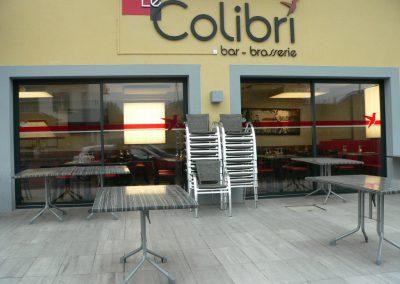 hotel-restaurant-chablais-geneve-colibri-devanture-logo